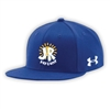 J&R DAY CAMP UNDER ARMOUR FLAT BRIM STRETCH FITTED CAP