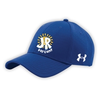 J&R DAY CAMP UNDER ARMOUR CURVED BRIM STRETCH FITTED CAP