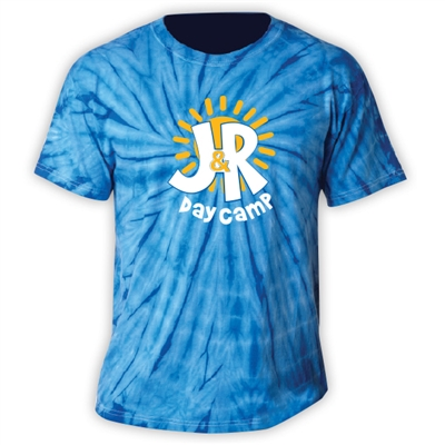 J&R DAY CAMP TIE DYED TEE
