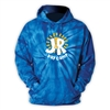 J&R DAY CAMP ROYAL TIE DYE SWEATSHIRT