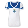J&R DAY CAMP SPORTY BURNOUT V-NECK