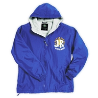 J&R DAY CAMP FULL ZIP JACKET WITH HOOD