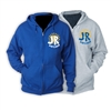 J&R DAY CAMP FULL ZIP HOODED SWEATSHIRT