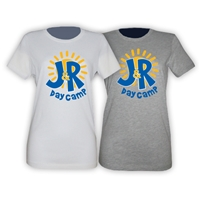J&R DAY CAMP GIRLS FITTED TEE