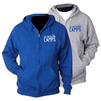 JCC ROCKLAND FULL ZIP HOODED SWEATSHIRT