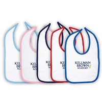KELLMAN BROWN INFANT VELCRO BIB