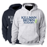 KELLMAN BROWN HOODED SWEATSHIRT