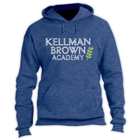 KELLMAN BROWN VINTAGE HOODED SWEATSHIRT