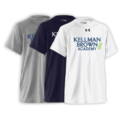KELLMAN BROWN UNDER ARMOUR TEE
