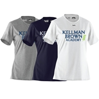 KELLMAN BROWN LADIES UNDER ARMOUR TEE
