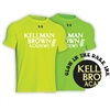 KELLMAN BROWN HYPER COLOR UNDER ARMOUR TEE