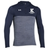 KELLMAN BROWN UNDER ARMOUR TECH 1/4 ZIP HOODY