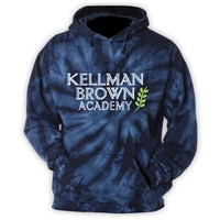 KELLMAN BROWN NAVY TIE DYE SWEATSHIRT
