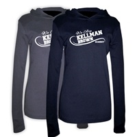 KELLMAN BROWN AMERICAN APPAREL LONG SLEEVE HOODY