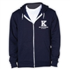 KELLMAN BROWN AMERICAN APPAREL FLEX FLEECE HOODY