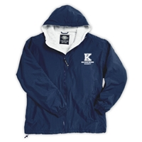 KELLMAN BROWN FULL ZIP JACKET WITH HOOD
