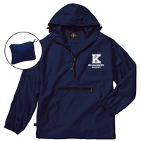 KELLMAN BROWN PACK-N-GO PULLOVER JACKET