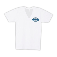 KINDER RING AMERICAN APPAREL UNISEX JERSEY V-NECK TEE