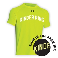 KINDER RING HYPER COLOR UNDER ARMOUR TEE