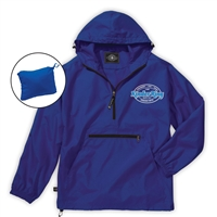 KINDER RING PACK-N-GO PULLOVER JACKET