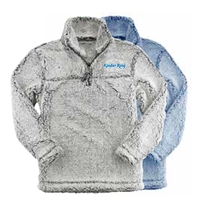 KINDER RING SHERPA 1/4 ZIP PULLOVER