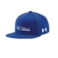 KUTSHERS UNDER ARMOUR FLAT BRIM STRETCH FITTED CAP