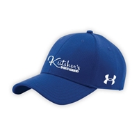 KUTSHERS UNDER ARMOUR CURVED BRIM STRETCH FITTED CAP