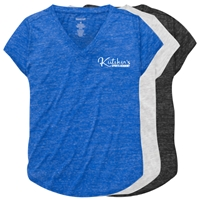 KUTSHERS RELAXED HEATHER V-TEE