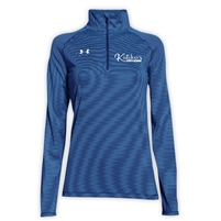 KUTSHERS LADIES UNDER ARMOUR STRIPE TECH 1/4 ZIP