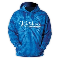 KUTSHERS ROYAL TIE DYE SWEATSHIRT