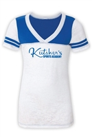 KUTSHERS SPORTY BURNOUT V-NECK