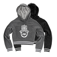 KUTSHERS CUSTOM LADIES STADIUM CROPPED HOODIE