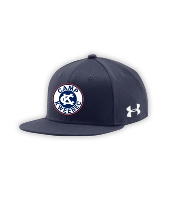 KWEEBEC UNDER ARMOUR FLAT BRIM STRETCH FITTED CAP