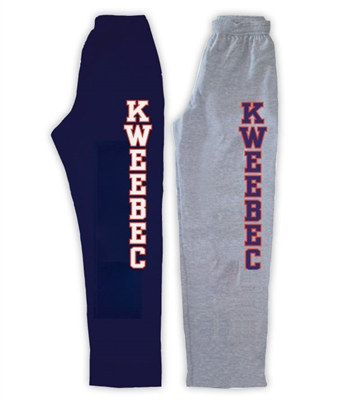 KWEEBEC OPEN BOTTOM SWEATPANTS WITH POCKETS