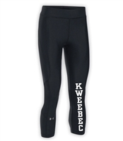 KWEEBEC LADIES UNDER ARMOUR HEAT GEAR ARMOUR CAPRI