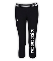 KWEEBEC GIRLS UNDER ARMOUR HEAT GEAR ALPHA CAPRI