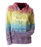 KWEEBEC COURTNEY BURNOUT V-NOTCH SWEATSHIRT