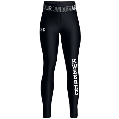 KWEEBEC GIRLS UNDER ARMOUR HEAT GEAR LEGGING