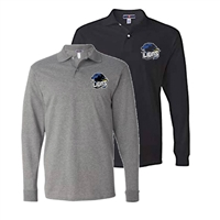 LINDENWOLD LIONS LONG SLEEVE POLO