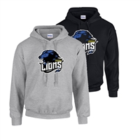 LINDEWOLD LIONS HOODED SWEATSHIRT
