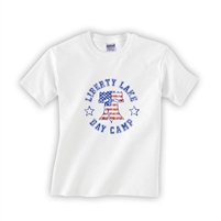 LIBERTY LAKE DAY CAMP TODDLER COTTON CAMP TEE
