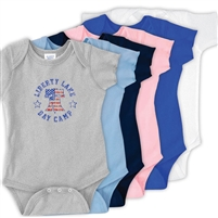 LIBERTY LAKE DAY CAMP INFANT BODYSUIT