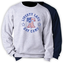 LIBERTY LAKE DAY CAMP CREW SWEATSHIRT