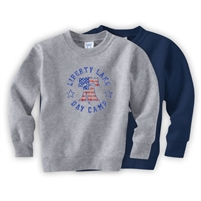 LIBERTY LAKE DAY CAMP TODDLER CREW SWEATSHIRT
