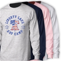 LIBERTY LAKE DAY CAMP LONGSLEEVE TEE