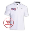 LIBERTY LAKE DAY CAMP ADULT UNDER ARMOUR LEADERBOARD POLO