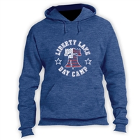 LIBERTY LAKE DAY CAMP VINTAGE HOODED SWEATSHIRT