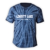 LIBERTY LAKE DAY CAMP TIE DYE TEE