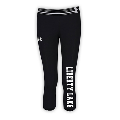 LIBERTY LAKE DAY CAMP GIRLS UNDER ARMOUR HEAT GEAR ALPHA CAPRI