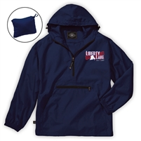 LIBERTY LAKE DAY CAMP PACK-N-GO LIQUID SUNSHINE PULLOVER JACKET